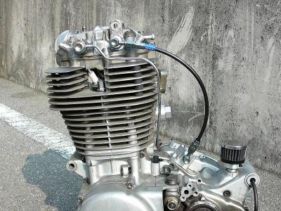 汽缸頭後方用機油油管組
