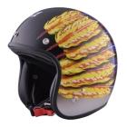 【72JAM】#51 羽毛設計 四分之三安全帽