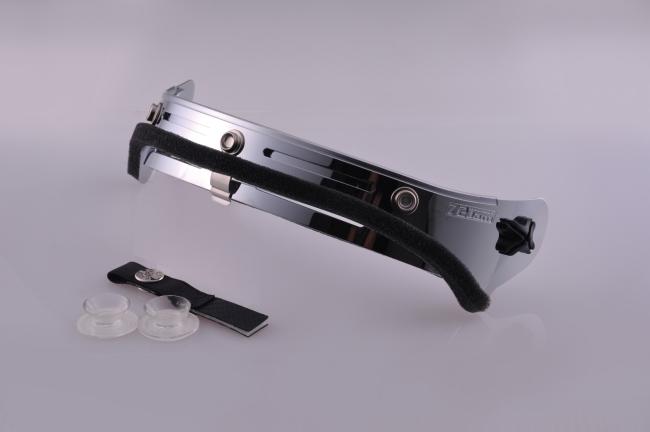 鋁合金可掀式安全帽風鏡基座