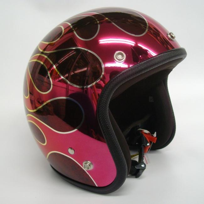 jam特殊彩繪款式四分之三安全帽 flames t-2