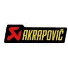 【AKRAPOVIC 蠍子管】耐熱消音器貼紙