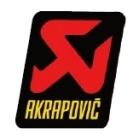 【AKRAPOVIC(蠍子管)】耐熱消音器貼紙