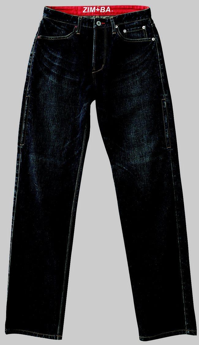 5口袋丹寧牛仔褲