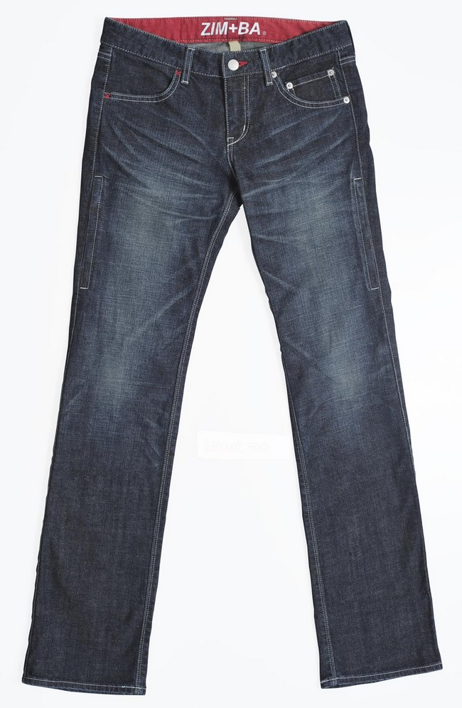 【ZIMBA】女用直筒丹寧牛仔褲 - 「Webike-摩托百貨」