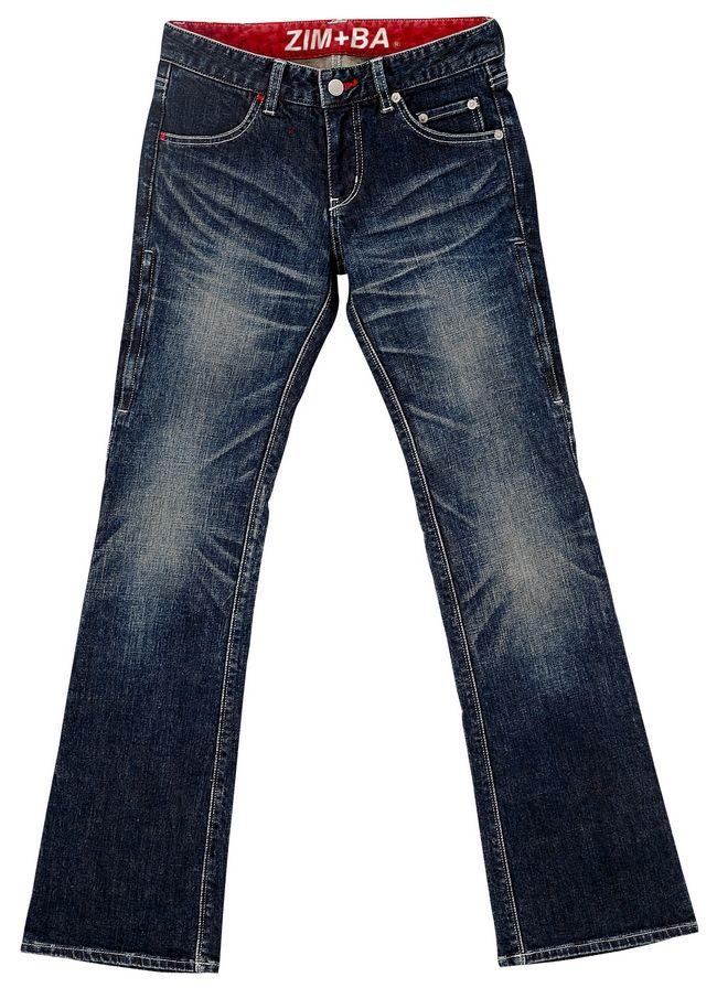 Flap Pocket丹寧牛仔褲 4011