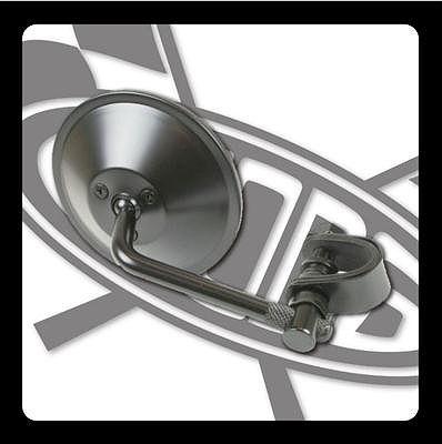 【GOODS】4吋圓型後視鏡 (黑色 夾式) - 「Webike-摩托百貨」
