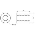 【GOODS】焊接型用加高螺帽 M8 Type 2