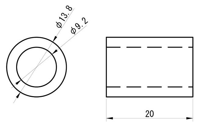 【GOODS】鋼製襯套 M8-20 10個一組 - 「Webike-摩托百貨」