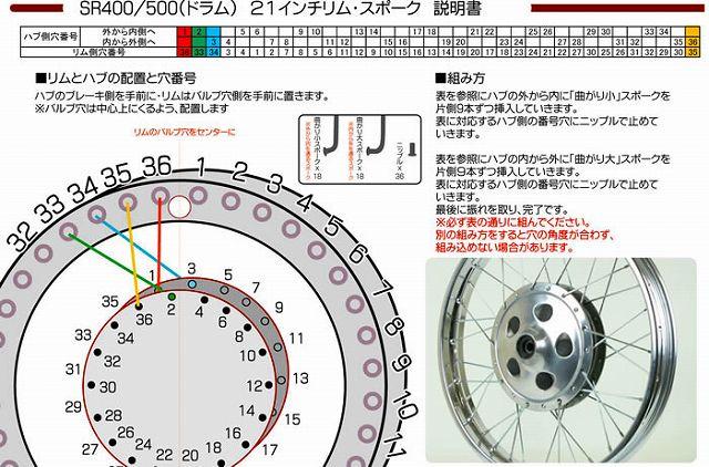 【GOODS】21吋 輪框不銹鋼鋼絲 - 「Webike-摩托百貨」
