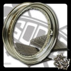 GOODS 16 InchKit MT Chrome Steel spoke