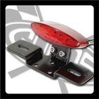 【GOODS】LED 紅色橢圓型尾燈 土除支架套件