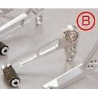 【AGRAS】【維修用換檔踏板】腳踏後移套件 用