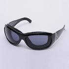 【GOGGLE】7eye太陽眼鏡 SPF100 Briza樣式(Black) ReAct Gray