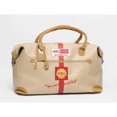 SHELL 皮革手提包