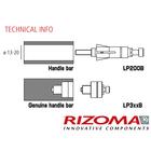 【RIZOMA】Pro Guard System/Spy Q、Spy R 後視鏡安裝轉接座