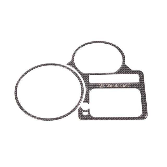 儀錶飾板蓋 (仿碳纖維印刷)