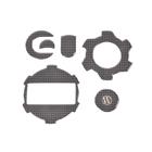 【Wunderlich】引擎飾板組 (仿碳纖維印刷)