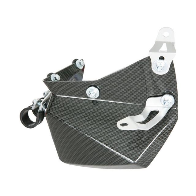 腳部保護組 (仿碳纖維印刷)