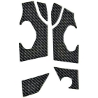 【Wunderlich】3D 仿碳纖維印刷 腳踏後移用車架保護貼