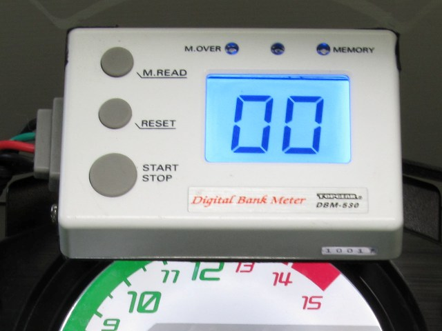 DBM-530 Digital Bank Meter 數位儀錶組 - Sport Riding用
