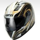 【WINS】A-FORCE GT 碳纖維×ハチプロデザイン安全帽