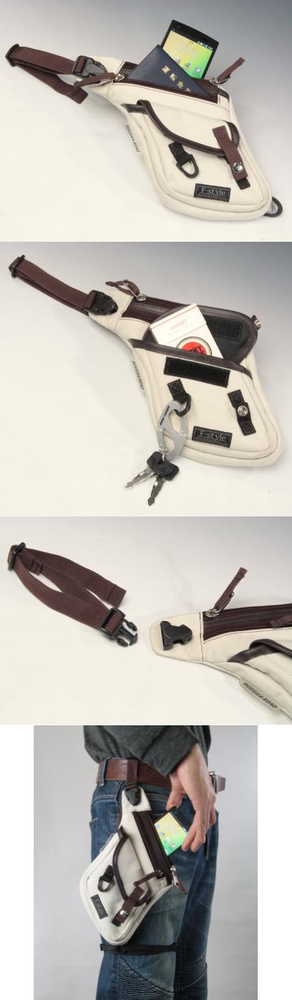 【ROUGH&ROAD】F-輕量腿包 - 「Webike-摩托百貨」