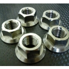 Titanium 64 Sprocket nut set