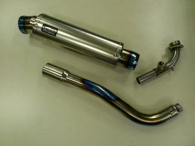 【WINDJAMMERS】Scudetto 鈦合金全段排氣管 F/Ti /O2感應器 - 「Webike-摩托百貨」