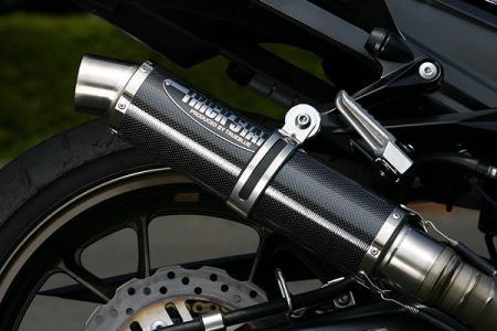 Shotgun排氣管尾段(碳纖維)