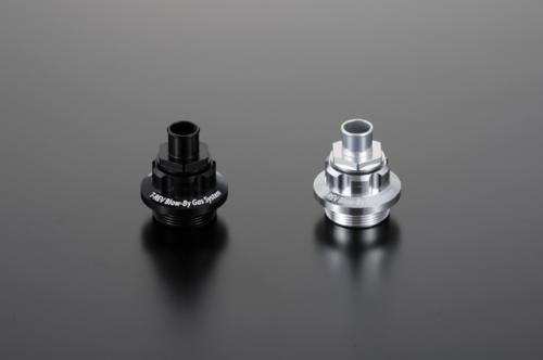 可拆式曲軸箱通氣管接頭 M30P1.5 銀色 Φ14