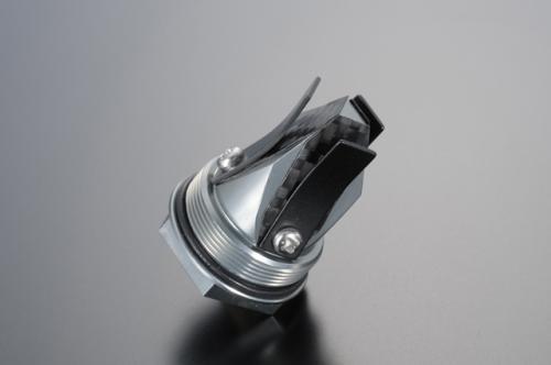 競賽用・乾式碳纖維簧片閥 閥體