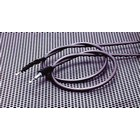 【TAKATSU】鐵灰色不鏽鋼離合器拉索
