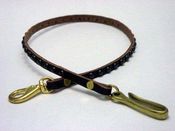 皮夾繩 VWCD1-BLACK (ROUND STUDS)