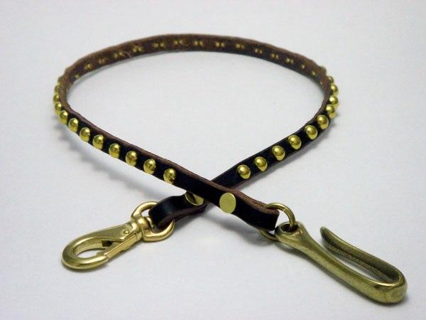 皮夾繩 VWCD1-GOLD (ROUND STUDS)