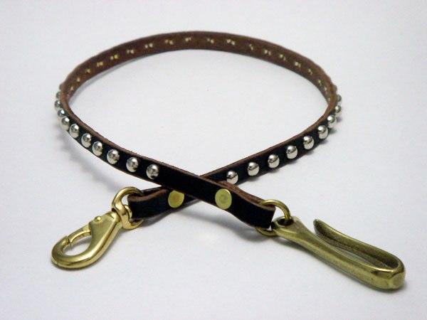 皮夾繩 VWCD1-SILVER (ROUND STUDS)