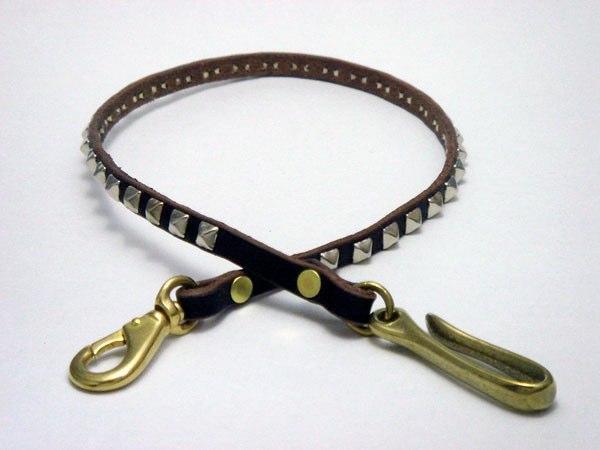 皮夾繩 VWCD2-SILVER (PYRAMID STUDS)