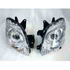 【CJ-BEET】魚眼型頭燈 (附LED光圈)