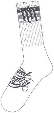 THIN LINE 男用襪