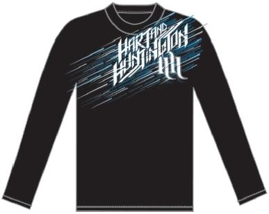 男用 L/S T恤 NO RETREAT