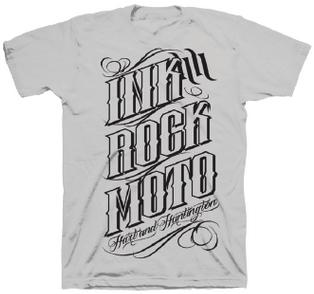男用 T恤 INK ROCK MOTO 3.0