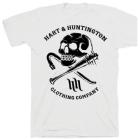 【Hart&Huntington】男用 T恤 DEATH SKULL