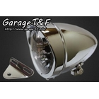 【Garage T&F】4.5吋 Rocket 型頭燈&頭燈支架套件 (Type A)