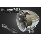 【Garage T&F】4吋 Slim 型頭燈(Short Slit Type)&頭燈支架套件 (Type B)