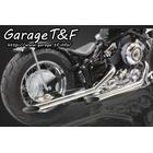 【Garage T&F】Drag pipe 全段排氣管(不銹鋼) Type I