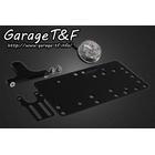 【Garage T&F】側牌照架套件 (LED 圓型尾燈 透明燈殼)