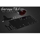【Garage T&F】側牌照架套件 (Medium Cat Eye 尾燈)