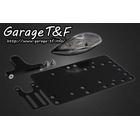【Garage T&F】側牌照架套件 (Glass 尾燈 LED 透明燈殼)