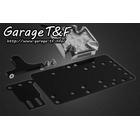 【Garage T&F】側牌照架套件 (Cross 尾燈 LED 透明燈殼)