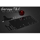 【Garage T&F】側牌照架套件 (Round 尾燈)