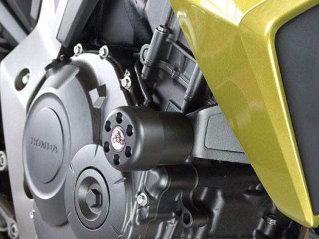 【P&A International】緩衝型引擎保護塊(防倒球) X-Pad 長 (70mm) - 「Webike-摩托百貨」